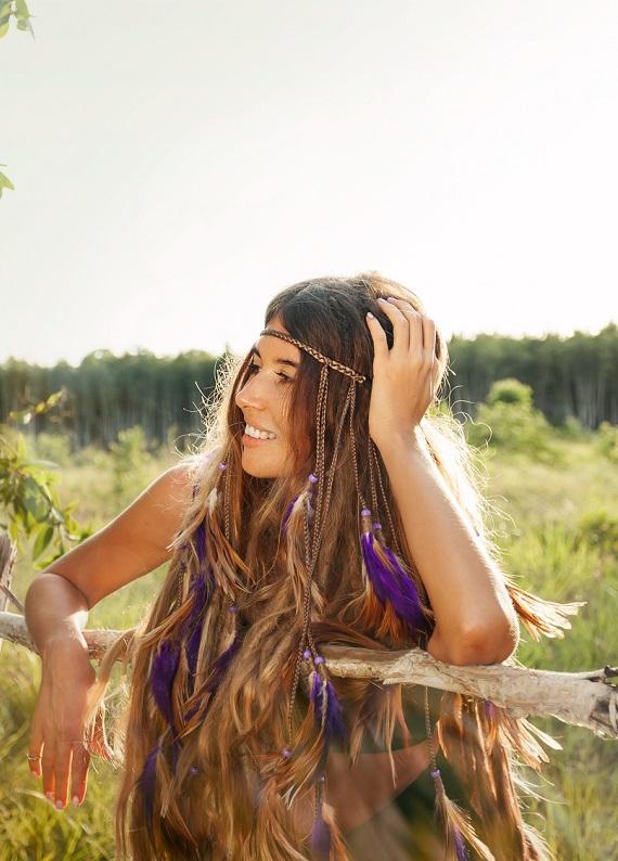 Saç tüyü trendi: Saç rengine uygun saç tüyleri