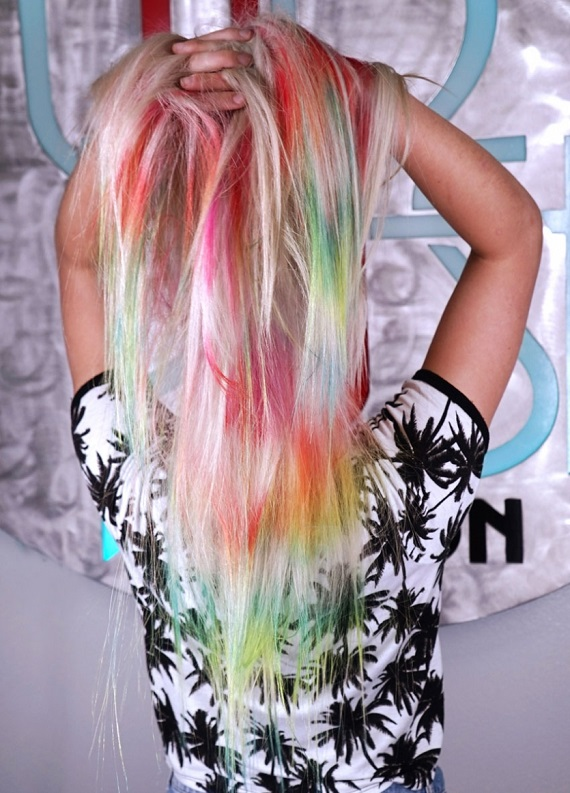 Tie-Dye saçlarla tanışmaya hazır mısın?