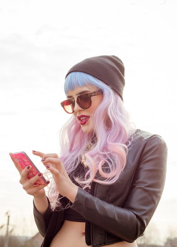 Bu saçlar çok trend: Senenin en çok ön plana çıkan renkli saçları!