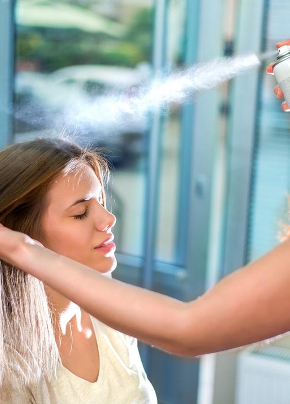 İlk hipoalerjenik saç spreyi: L'Oréal Professionnel Infinium Pure