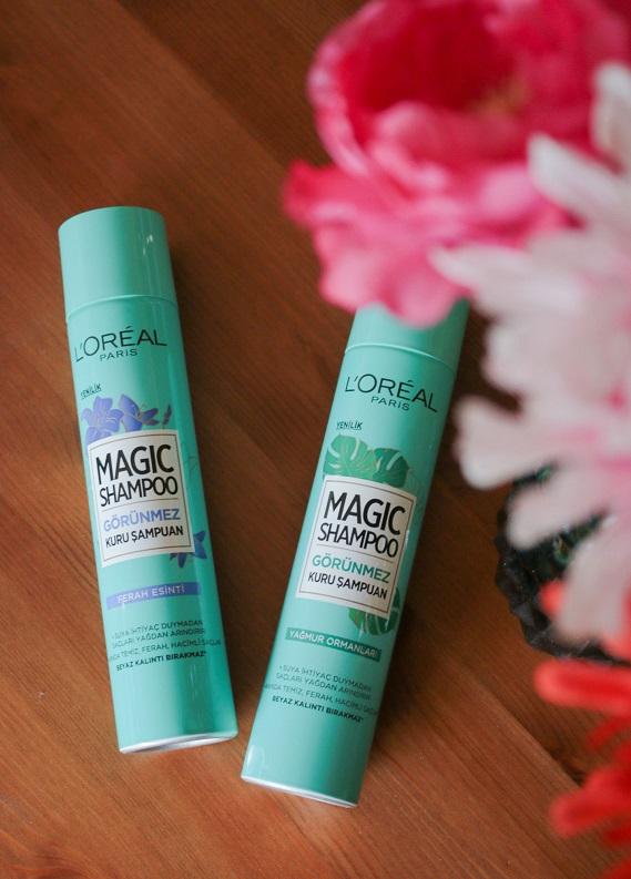 L'Oréal Paris Magic Shampoo Görünmez Kuru Şampuan'ı Denedik!