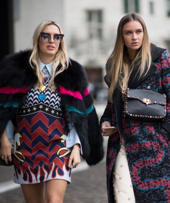 Londra Moda Haftası: Sokak stilinin en dikkat çeken saçları!