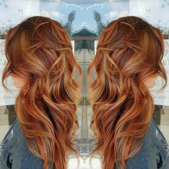 kızıl bakır saç