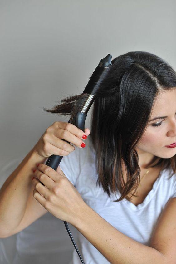 Kısa saça maşa yaparken dikkat edilmesi gerekenler3