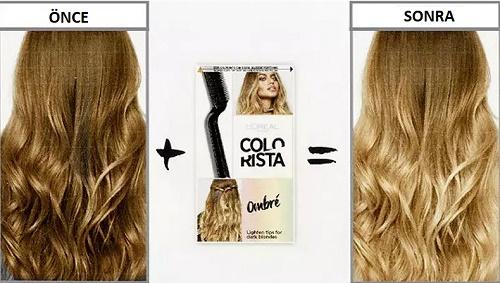 L'Oréal Colorista Ombré Hangi Saç Renklerine Uygulanabilir