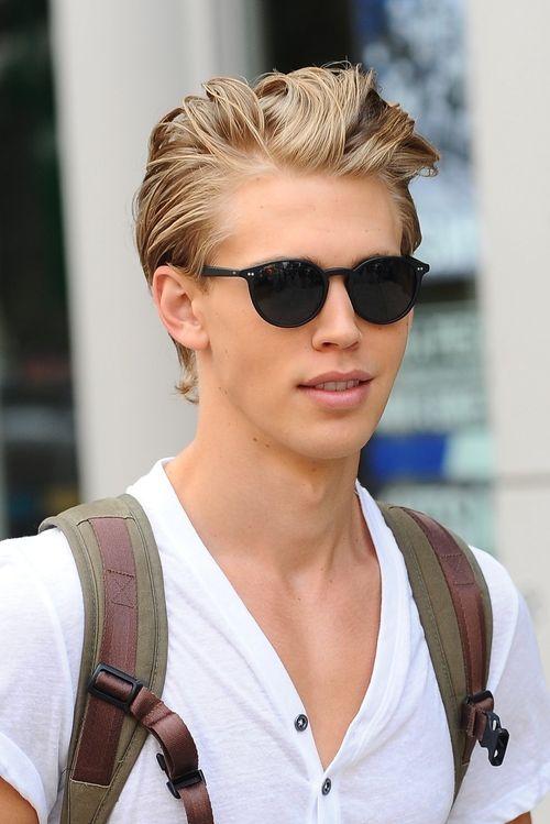 Erkek Stili Düz Sarı Saç Modelleri Saç Sırları