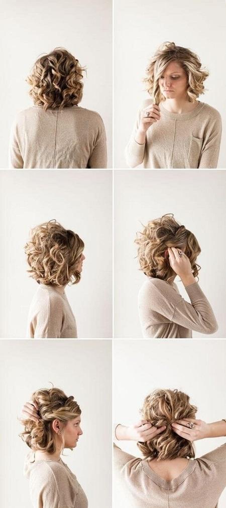 Yarı toplu saçlar