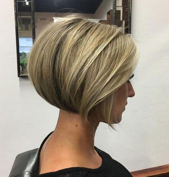 Kısa Saçlar için Kırık Fön Modelleri2
