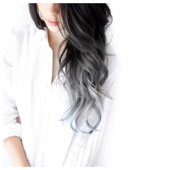 siyah gri saç