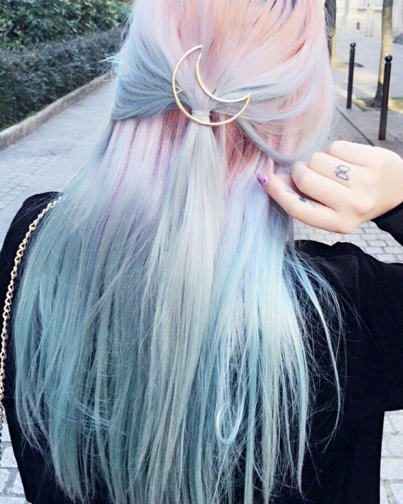 renkli saçlar