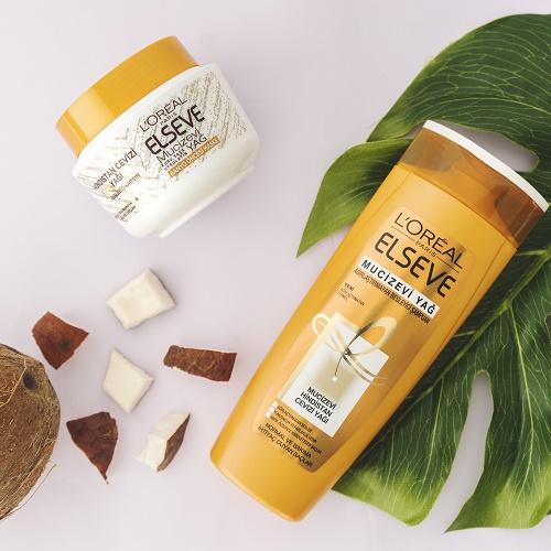 L'Oréal Paris Elseve Mucizevi Hindistan Cevizi Yağ Şampuan