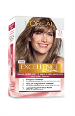 Excellence Creme Saç Boyası 7.1 Küllü Kumral