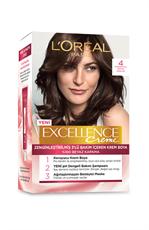 L'Oréal Paris Excellence Creme 4 Koyu Kahve