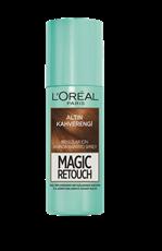 Magic Retouch Kapatıcı Sprey - Altın Kahverengi