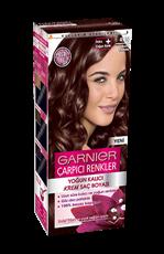 Garnier Çarpıcı Renkler Saç Boyası 4.15 Buzlu Kestane
