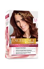Excellence Creme Saç Boyası  5.5 Kızıl Kestane