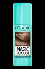 Magic Retouch Kapatıcı Sprey - Kahverengi Saçlar