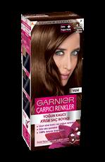 Garnier Çarpıcı Renkler Saç Boyası 4.30 Harem Kahvesi