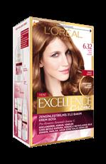 Excellence Creme Saç Boyası 6.32 Altın Açık Kahve