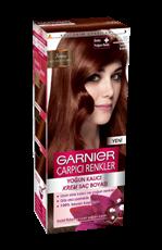 Garnier Çarpıcı Renkler Saç Boyası 5.35 Tarçın Kahve