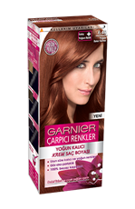 Garnier Çarpıcı Renkler Saç Boyası 6.46 Yoğun Bakır Kahve