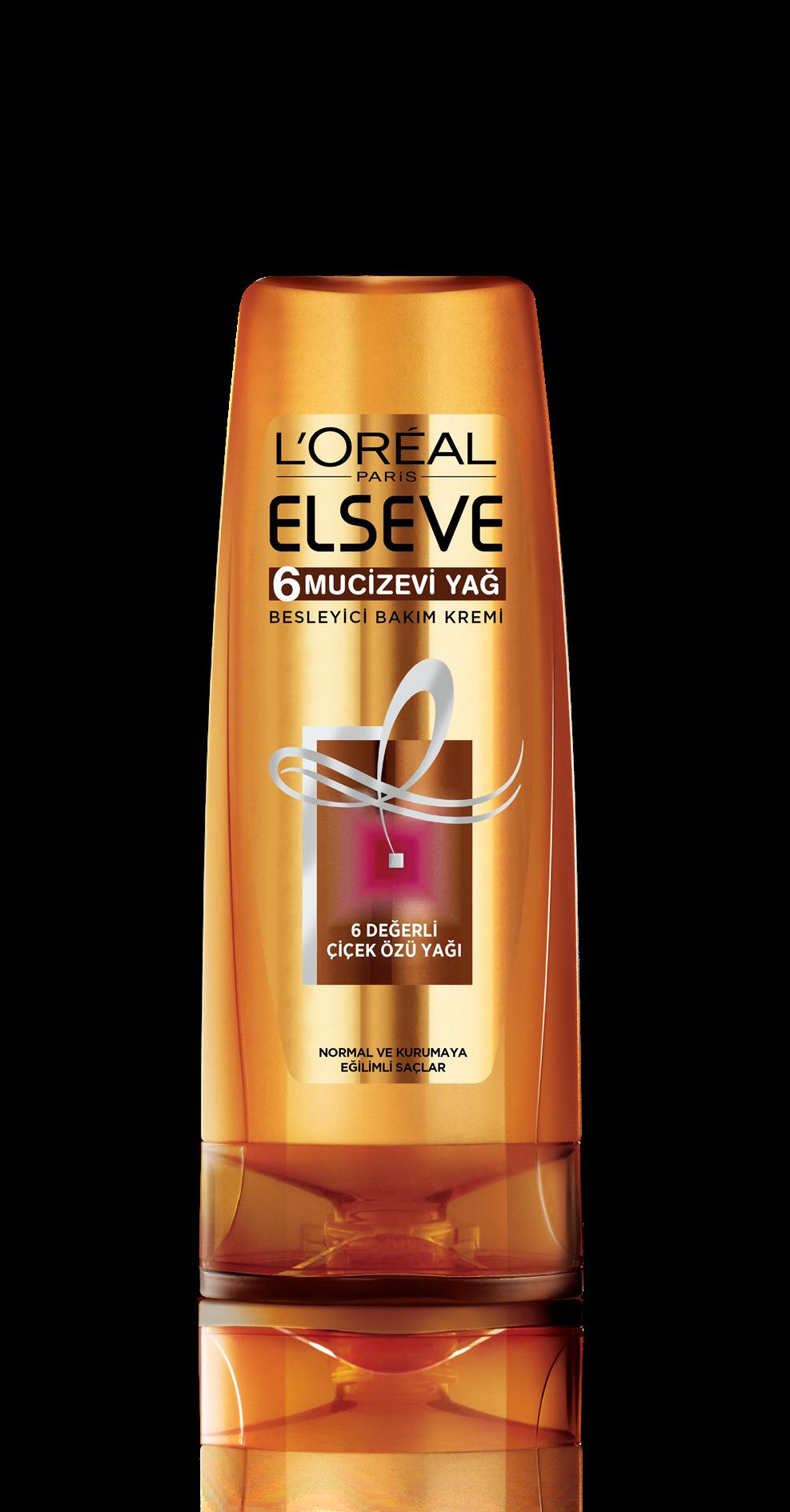 L'Oréal Paris Elseve 6 Mucizevi Yağ Besleyici Bakım Kremi