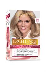 Excellence Creme Saç Boyası 9.1 Sarı Küllü