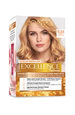 Excellence Intense Saç Boyası 8.34 Zengin Sıcak Sarı
