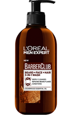 L'Oréal Paris Men Expert Barber Club 3'Ü 1 Arada Yıkama Sakal, Yüz Ve Saç İçin