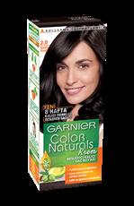 Garnier Color Naturals Saç Boyası 2 Kadife Siyah