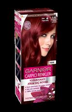 Garnier Çarpıcı Renkler Saç Boyası 5.62 Parlak Lal Kızılı