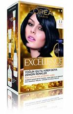 Excellence Intense Saç Boyası 1.1 Yoğun Siyah