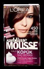L'Oréal Paris Sublime Mousse Köpük Saç Boyası 450 Derin Kızıl Kestane