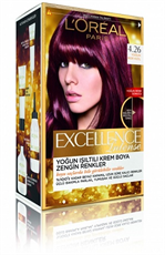 Excellence Intense Saç Boyası 4.26 Yoğun Mor Kızıl