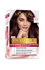 Excellence Creme Saç Boyası 4.15 Büyüleyici Kahve