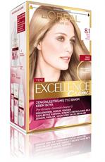 Excellence Creme Saç Boyası 8.1 Koyu Sarı Küllü