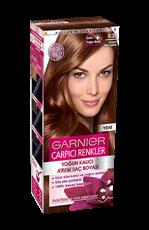 Garnier Çarpıcı Renkler Saç Boyası 6.35 Çarpıcı Altın Kahve