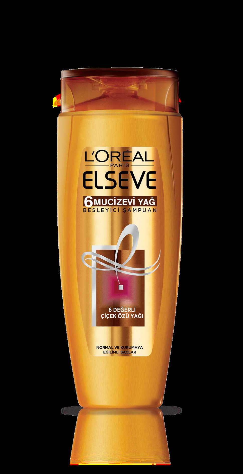 L'Oréal Paris Elseve 6 Mucizevi Yağ Besleyici Bakım Şampuanı