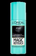 Magic Retouch Kapatıcı Sprey - Siyah Saçlar