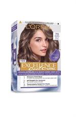L'Oréal Paris Excellence Cool Creme 7.11 Ekstra Küllü Kumral
