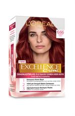 Excellence Creme Saç Boyası  6.66 Şarap Kızılı
