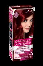 Garnier Çarpıcı Renkler Saç Boyası 4.60 Yoğun Koyu Kızıl