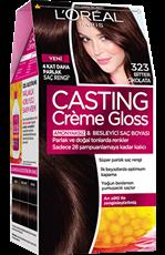 Casting Crème Gloss 323 Bitter Çikolata